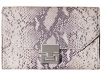Ivanka Trump Hopewell Travel Organizer Cement Clutch Handbags Beige