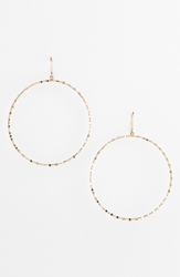 Lana 'Blake' Large Hoop Earrings Yellow Gold