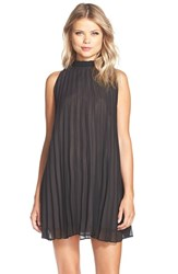 Women's Bb Dakota 'Devlan' Pleated Trapeze Dress