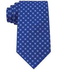 Tommy Hilfiger Square Neat Tie Blue
