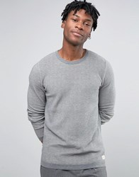 Selected Homme Crew Neck Knit Grey