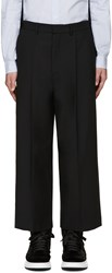 Mcq By Alexander Mcqueen Black Smith Trousers