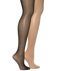 Hue Age Defiance With Control Top Hosiery Natural