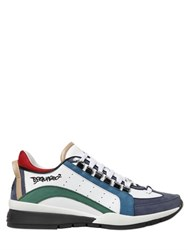 Dsquared Leather And Nubuck Sneakers