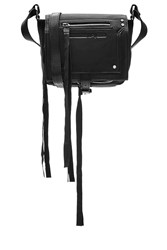 Mcq By Alexander Mcqueen Leather Shoulder Bag Black