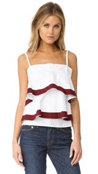Tory Burch Sage Top White