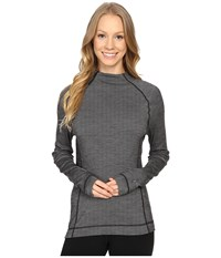 Smartwool Nts Mid 250 Isto Sport Raglan Top Light Gray Heather Natural Women's Sweatshirt