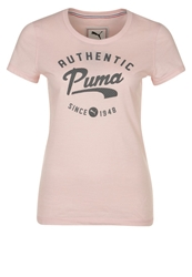 Puma Style Print Tshirt Crystal Rose Heather