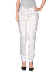 Ice Iceberg Trousers Casual Trousers Women White