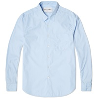 First Shirt Blue Poplin