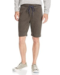 Surfside Supply French Terry Shorts Black Olive