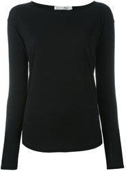 Rag And Bone Jean Boat Neck Sweater Black