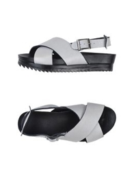 Surface To Air Sandals White