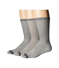 Timberland Tm31568 Heavy Weight Merino Wool Crew 3 Pack Assorted Men's Crew Cut Socks Shoes Multi