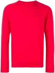 Paul Smith Ps By Crew Neck Jumper Pink Purple