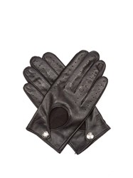 Dents Cliveden Hairsheep Leather Gloves Navy