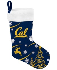 Forever Collectibles California Golden Bears Team Stocking Blue