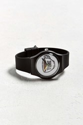 Urban Outfitters Uo Art Watch Coffee Time Black