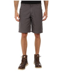 Carhartt Ardmore Rugged Work Khaki Short Gravel Men's Shorts Silver