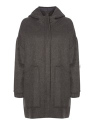 Pied A Terre Abby Parka Grey