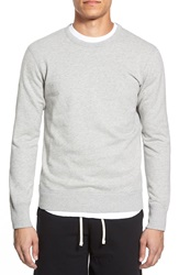 Reigning Champ 'Core' Crewneck Sweatshirt Heather Grey