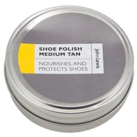 John Lewis Shoe Polish Medium Tan