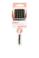Topshop Toni And Guy Compact Brush And Mirror White