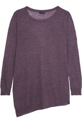 Joseph Cashmere Tunic Grape