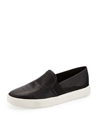 Vince Berlin Calf Hair Slip On Sneaker Twilight