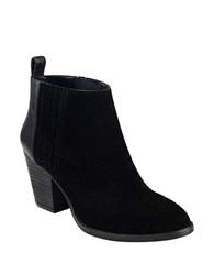 Nine West Fiffi Suede Ankle Length Booties Black