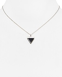 Samantha Wills Aztec Dreaming Necklace 16 Silver Black Onyx