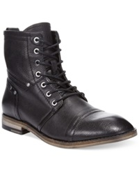 Guess Eagan Cap Toe Boots