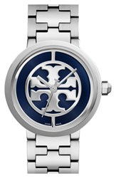 Women's Tory Burch 'Reva' Logo Dial Bracelet Watch 36Mm