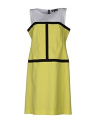 Georges Rech Knee Length Dresses Yellow