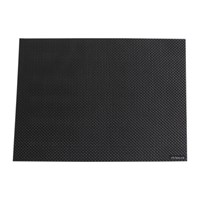 Chilewich Basketweave Rectangle Placemat Black