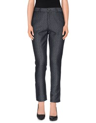 Ottod'ame Trousers Casual Trousers Women Dark Blue