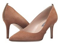 Sarah Jessica Parker Fawn 70Mm Holden Brown Suede Women's Slip On Dress Shoes Tan