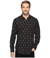 Robert Graham Jace Long Sleeve Woven Shirt Brown Men's Clothing