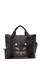 Charlotte Olympia X Bodyism Purrrfect Gym Bag Black