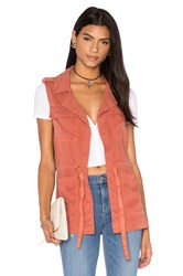 Sanctuary Surplus Vest Rust