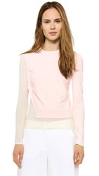 Cedric Charlier Long Sleeve Sweater Pink