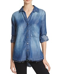 Bella Dahl Chambray Denim Shirt Windsor Wash