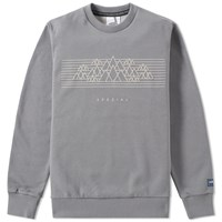 Adidas Spzl Mountain Graphic Crew Sweat Grey