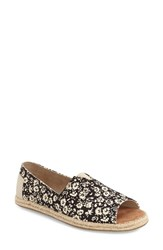 Women's Toms Print Open Toe Espadrille Slip On
