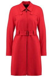 Strenesse Chabby Trenchcoat Rot Red