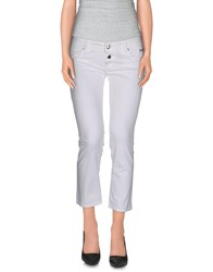 Roy Rogers Roy Roger's Choice Trousers 3 4 Length Trousers Women White