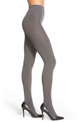 Falke 'Pure Matte 100' Opaque Tights Platinum