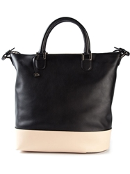 Delvaux 'Every D Allure' Tote Black