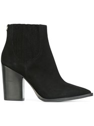 Htc Hollywood Trading Company Pointed Toe Ankle Boots Black