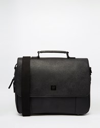 French Connection Messenger Bag Black